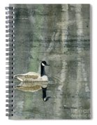 The Canadian Goose Spiral Notebook