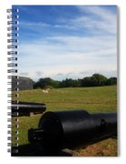 The Cannons At Fort Moultrie In Charleston Spiral Notebook