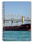 The Cape At Blue Water Bridges Spiral Notebook