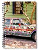 The Car Spiral Notebook