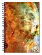 The Carina Nebula Panel Number One Out Of A Huge Three Panel Set Spiral Notebook