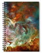 The Carina Nebula Panel Number Three Out Of A Huge Three Panel Set Spiral Notebook
