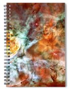The Carina Nebula Panel Number Two Out Of A Huge Three Panel Set Spiral Notebook
