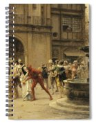 The Carnival Procession Spiral Notebook