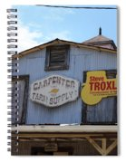 The Carpenter Farm Supply Spiral Notebook