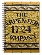 The Carpenters Company Spiral Notebook