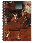 The Carpenters Shop In Nazareth Spiral Notebook