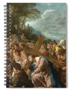 The Carrying Of The Cross Spiral Notebook