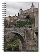 The Castle And The Bridge Spiral Notebook