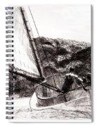 The Cat Boat, Edward Hopper Spiral Notebook