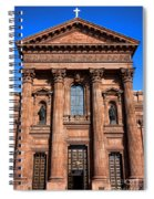 The Cathedral Basilica Of Saints Peter And Paul Spiral Notebook