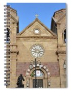The Cathedral Basilica Of St. Francis Of Assisi, Santa Fe, New M Spiral Notebook
