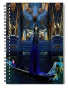 The Cave Temple Of Lhariahn Spiral Notebook