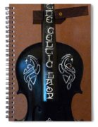 The Celtic Lady 1 Spiral Notebook