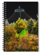 The Center Of Downtown Spokane Spiral Notebook