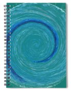 The Center Of The Universe Spiral Notebook