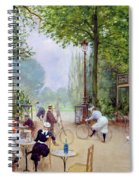 The Chalet Du Cycle In The Bois De Boulogne Spiral Notebook