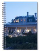 The Chanler At Cliff Walk Spiral Notebook