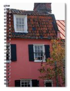 The Charm Of Charleston Sc Spiral Notebook