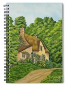 The Charm Of Wiltshire Spiral Notebook