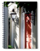 The Charme Of Charleston Sc Spiral Notebook