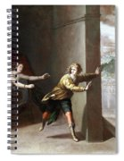 The Chastity Of Joseph Spiral Notebook