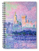 The Chateau Des Papes Spiral Notebook