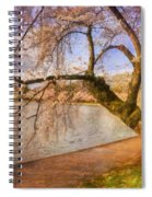 The Cherry Blossom Festival Spiral Notebook