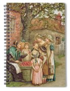 The Cherry Woman Spiral Notebook