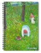 The Chestnut Gatherers Spiral Notebook
