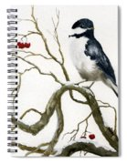 The Chickadee Spiral Notebook