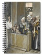 The Chief Priests Ask Jesus By What Right Does He Act In This Way Spiral Notebook