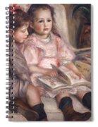The Children Of Martial Caillebotte Spiral Notebook