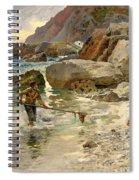 The Children Of The Sea - Capri Spiral Notebook
