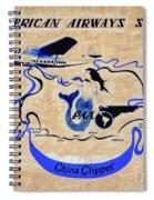 The China Clipper Spiral Notebook