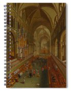 The Choir - Canterbury Cathedral Spiral Notebook