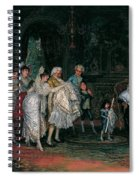 The Christening Spiral Notebook