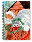 The Christmas Goose Spiral Notebook