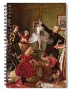 The Christmas Hamper Spiral Notebook