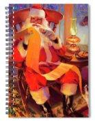 The Christmas List Spiral Notebook