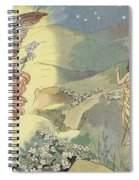 The Christmas Rose Spiral Notebook