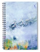 The Christmas Wrapping By Lisa Kaiser Spiral Notebook