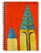 The Chrysler And The Empire State Spiral Notebook