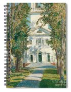 The Church At Gloucester, 1918 Spiral Notebook