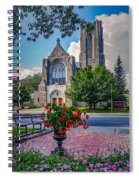 The Church In Summer Spiral Notebook