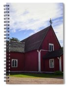 The Church Of Kustavi Spiral Notebook