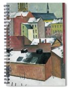 The Church Of St Mary In Bonn In Snow Spiral Notebook