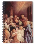 The Circumcision Of The Child Jesus 1640 Spiral Notebook