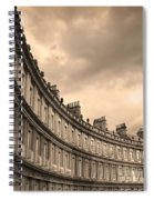 The Circus Bath England  Spiral Notebook