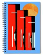 The City Spiral Notebook